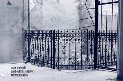 #haiga Blue - Inside Outsida