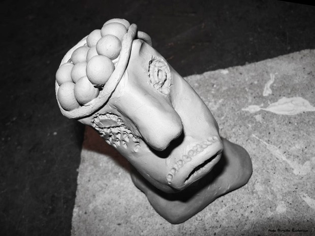 Crazy Art by me - Clay