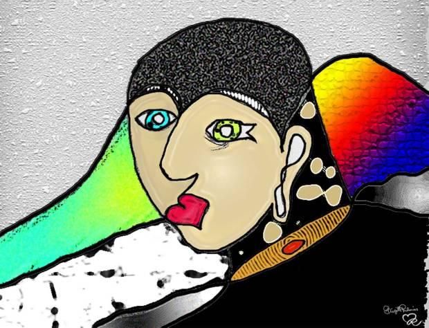 Crazy Art by me - EyeLight