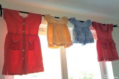Mina gamla klänningar som mamma sytt