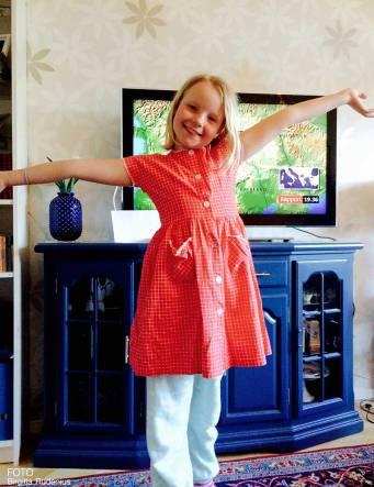 My dresses Mum made - Now used by grandchildren.