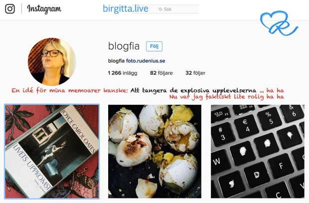 blogfias memoarer - Att tangera de explosiva upplevelserna