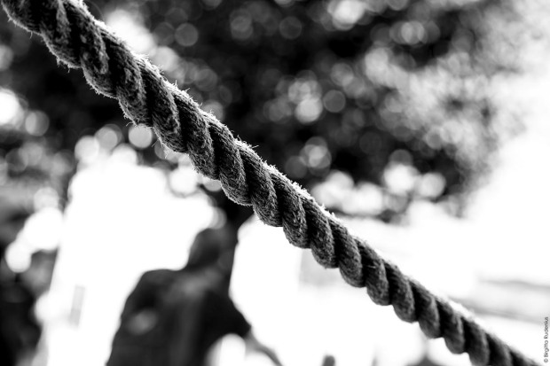 BW - The rope of life