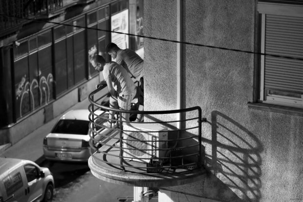Street Photo - Balcony