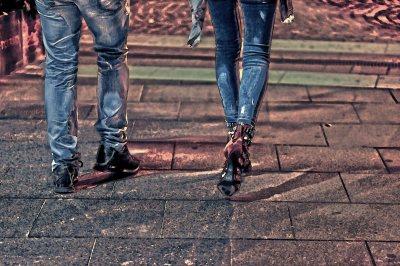 Photomania Street Walk High Heels