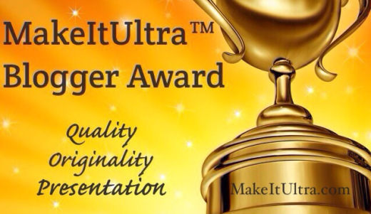 MakeItUltra Blogger Award