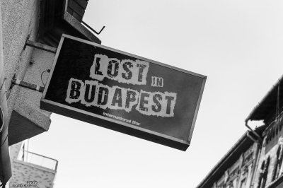 BW - Lost in Budapest
