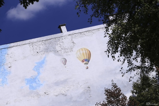 Art on Wall - Balloons, Budapest