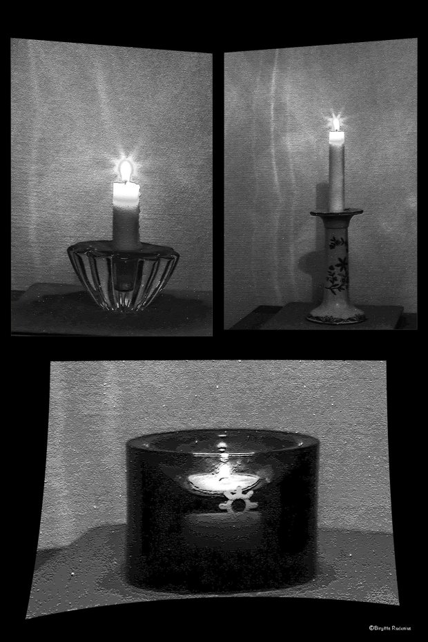 BW - Light a candle for the good work