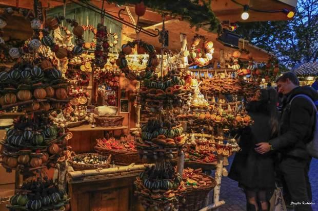 Christmas market Cinnamon in Budapest