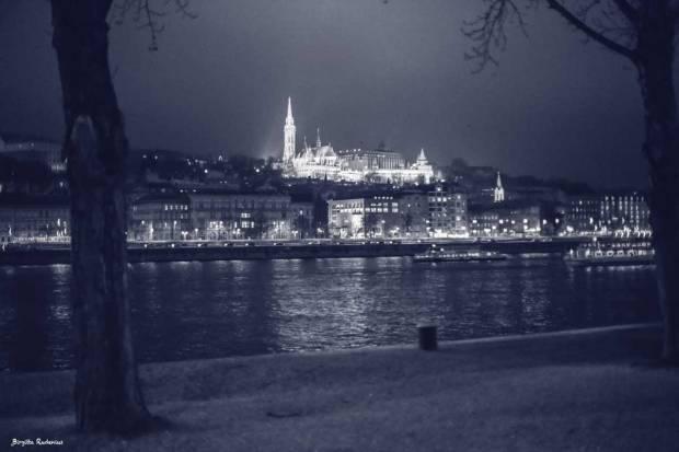 Blue Photo - Mattias Church, Budapest