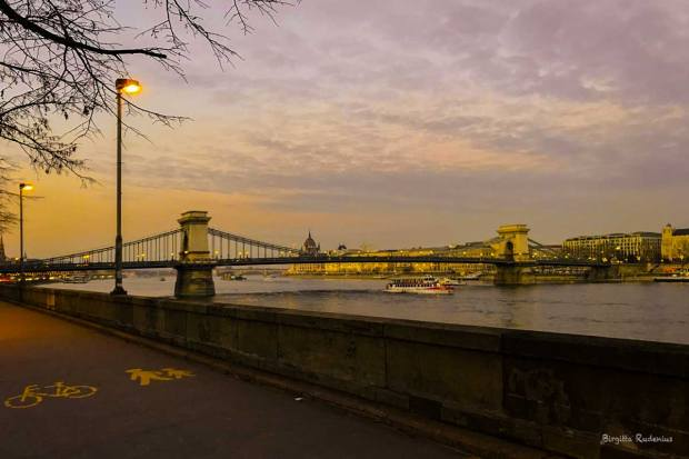 Budapest and the Chain Bridge - Uniting Buda and Pest
