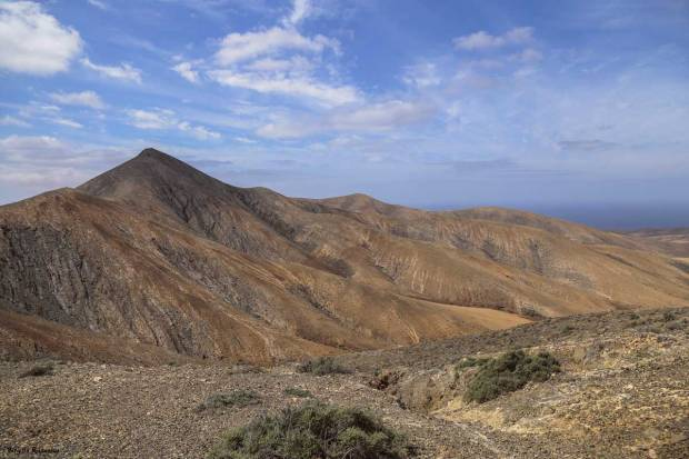View - Fuerteventura Desert Landscape