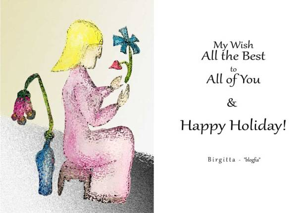 All the Best to All of You - Happy Holiday!
