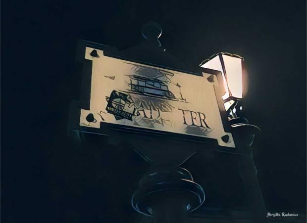 The sign - Tram #byblogfia