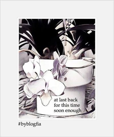 #byblogfia - Welcome Back!