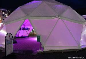 Pink iPhoto - Igloo, Lund Sweden