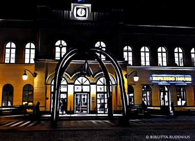iPhoto - Lund C - Train Station