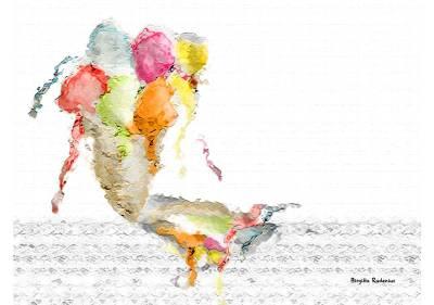 Crazy Art by me - Ice Cream