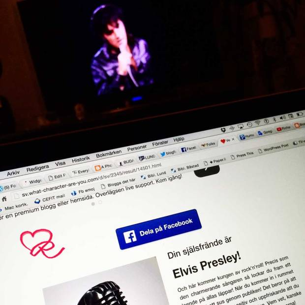 My Soulmate is ELVIS ... and I knew it!