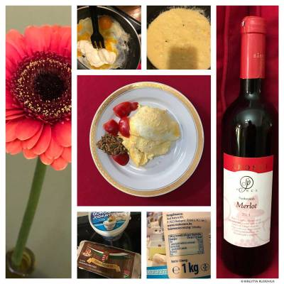LCHF - Lunch Omelett by #blogfia.