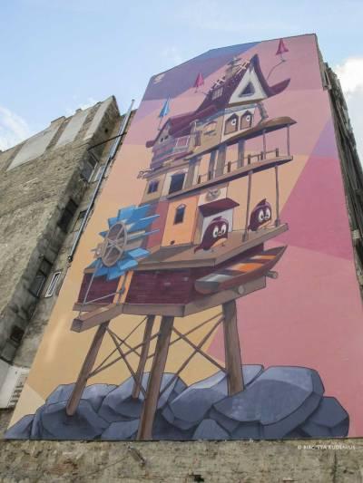 Mural - Street Art - Wall Art Budapest.