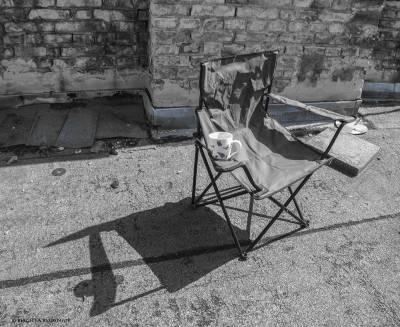 BW - Director's Chair - Mine :)