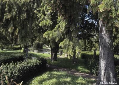 Norra Kyrkogården i Lund.