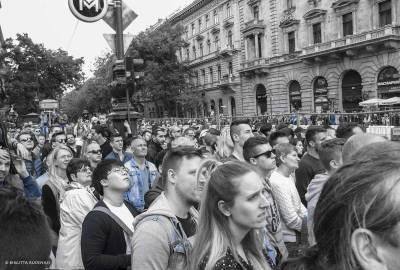 Car Racing May Day 2017 Budapest.