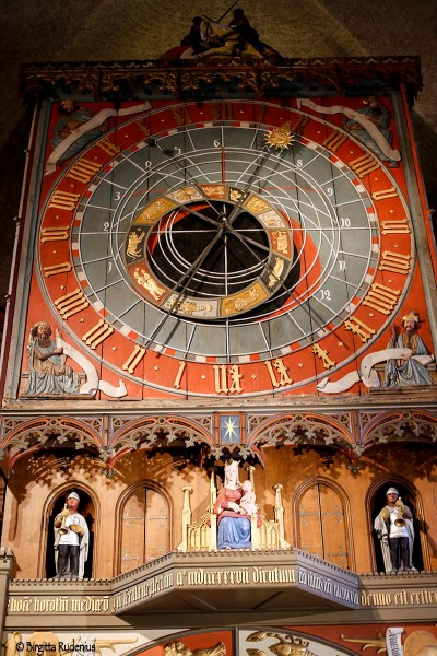 The Astronomic Clock in Lund Cathedral