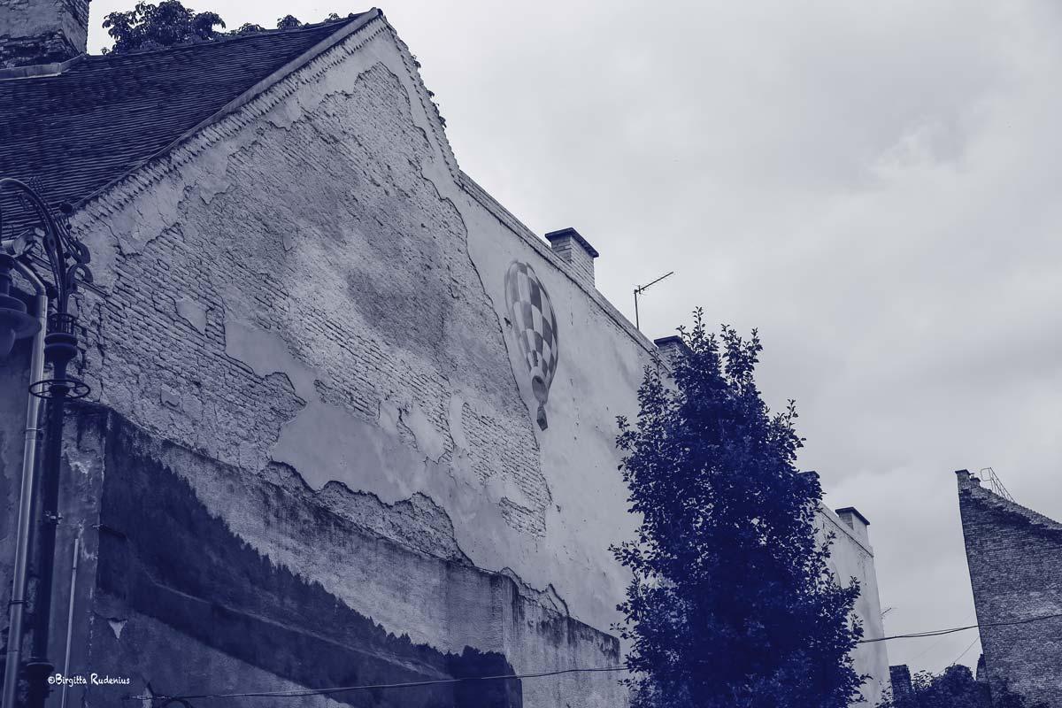 Blue Photo - Art Wall, Budapest.