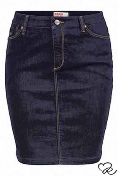 Dobber jeans kjol.