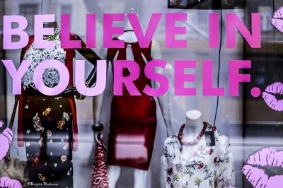 Believe in yourself - Window.
