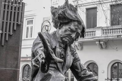 Statue - Ference Liszt, Budapest.
