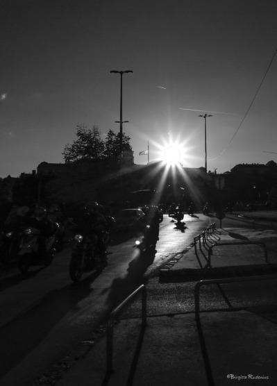Street Photo Bikers.