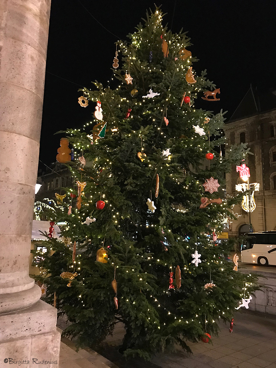 Opera Christmas Tree, Budapest.