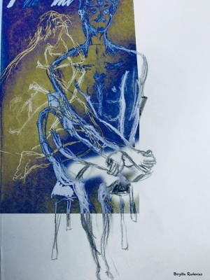 Kroki by me - Birgitta Rudenius.