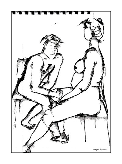 Kroki - He and She.