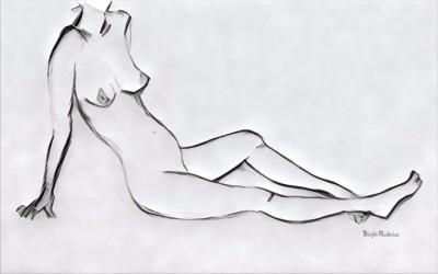 Kroki - by Birgitta Rudenius