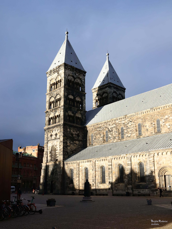 Lund Cathedral Street Photo © Birgitta Rudenius