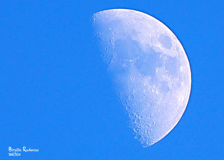 Moon Photo © Birgitta Rudenius